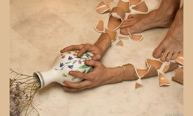 manipulasi tangan yang pecah