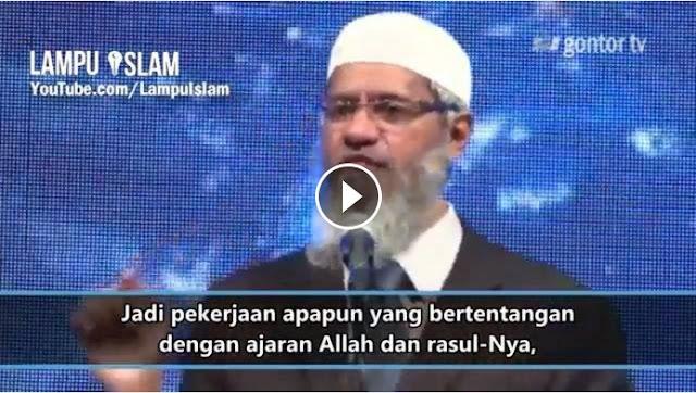 Nasihat Dr. Zakir Naik Untuk Polisi Indonesia