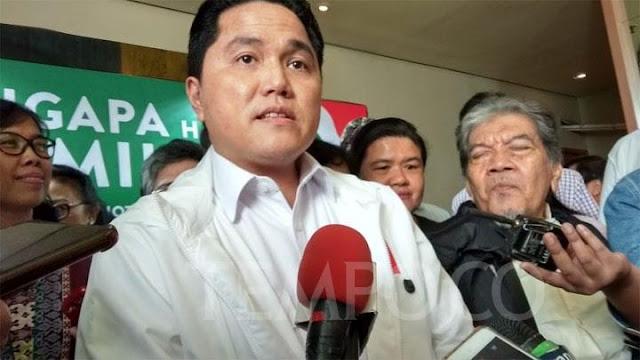 Erick Thohir Minta Penangkapan Rommy Tak Dikaitkan dengan Pilpres