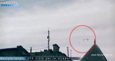 UFO-ról számolt be egy Olasz TV csatorna