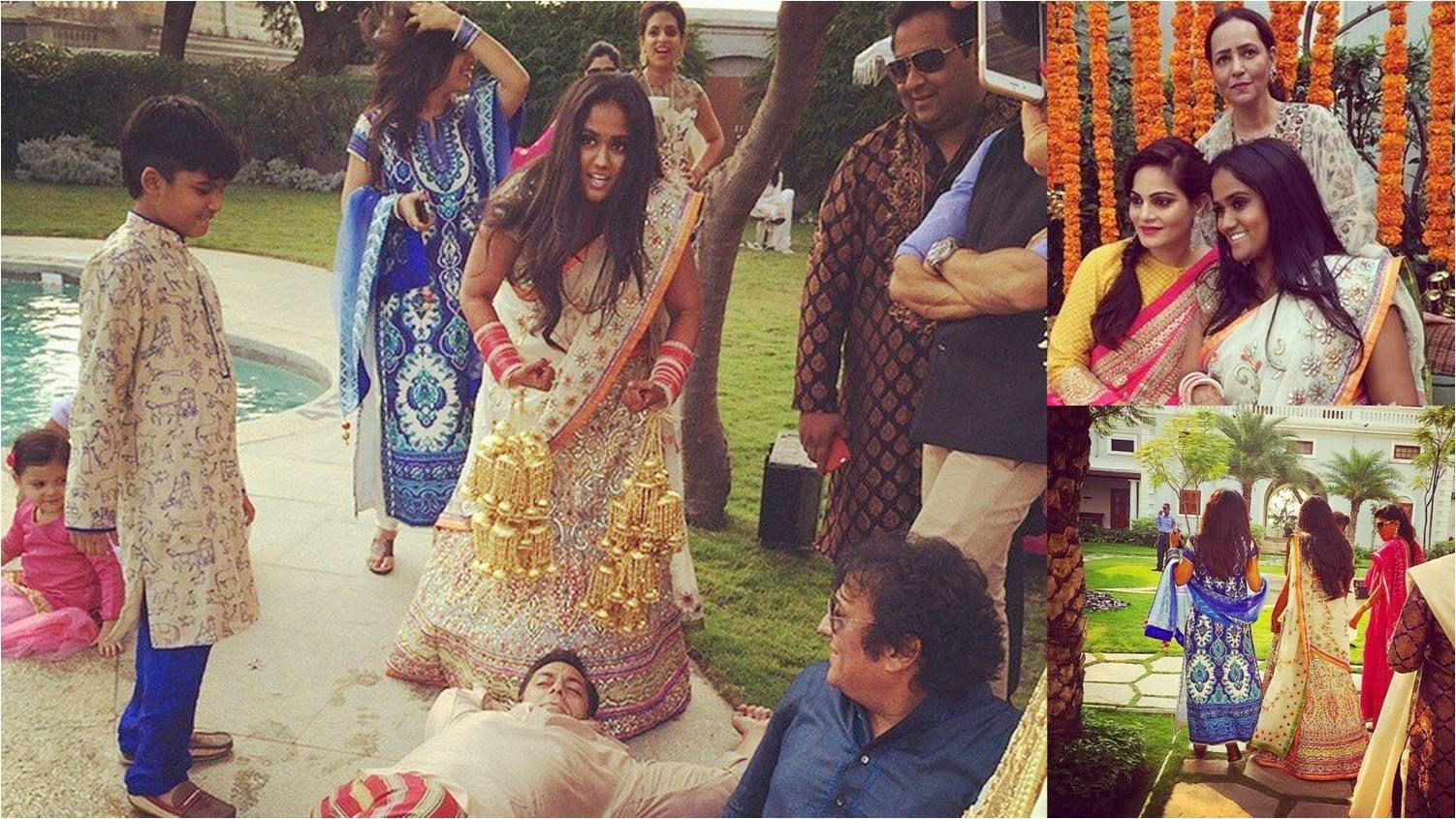 wedding of Arpita Khan