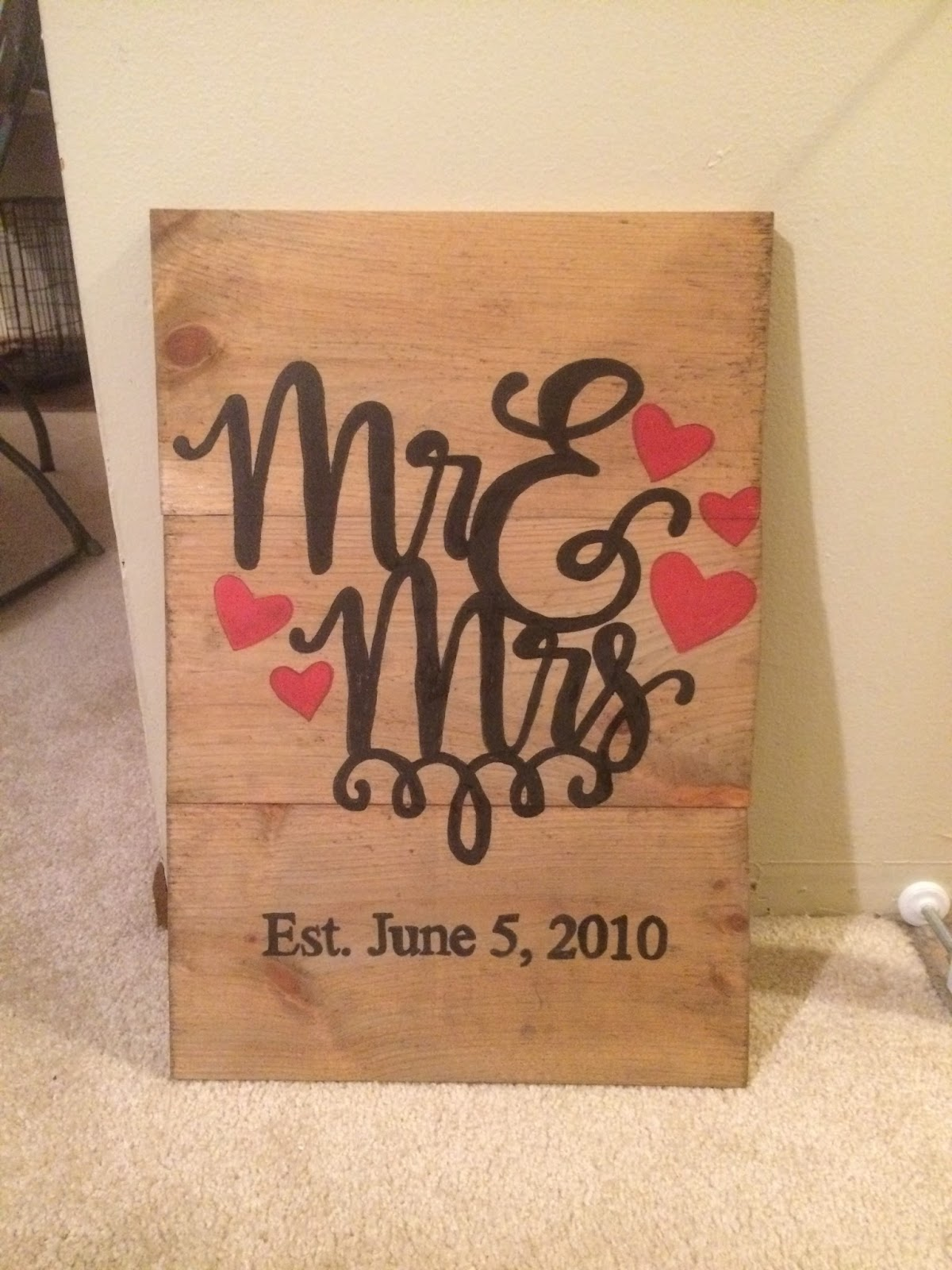 Young not powerless diy wedding vow wood panel boards before i get into the nitty gritty of how to do this yourself here is how the decorative panel turned out solutioingenieria Images
