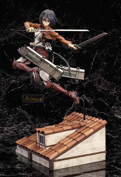 MIKASA ACKERMAN DX Ver. FIGURE Shingeki no Kyojin GOOD SMILE COMPANY