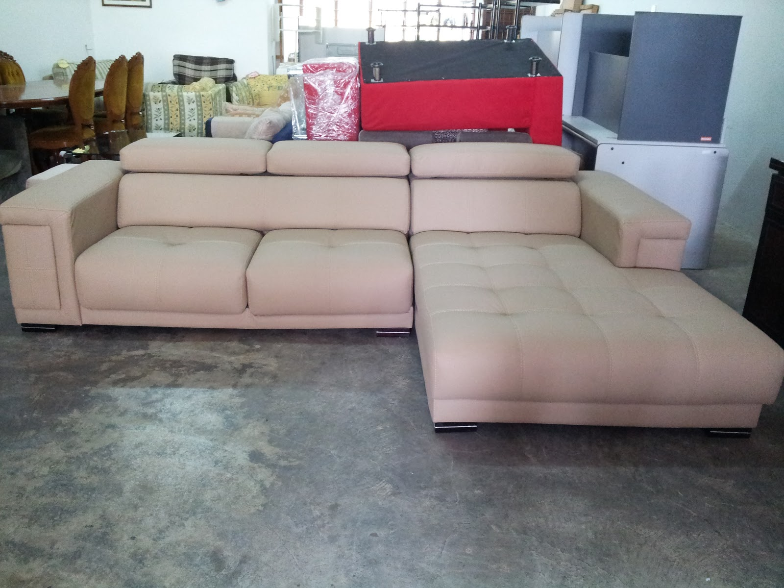 Perabot Terpakai Klang Valley Sofa L Shape Leather