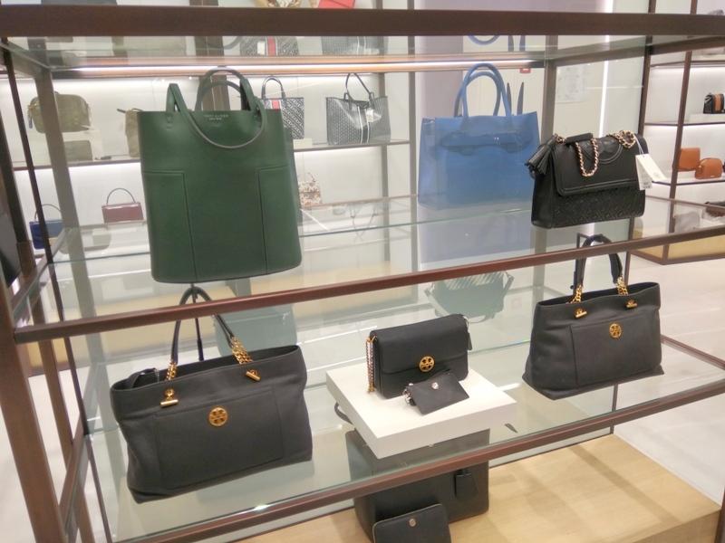 Hudson's Bay Tory Burch hand bags