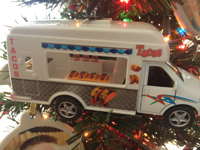 Food Truck Christmas Ornament