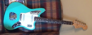 Fender Jaguar Guitar Refinished