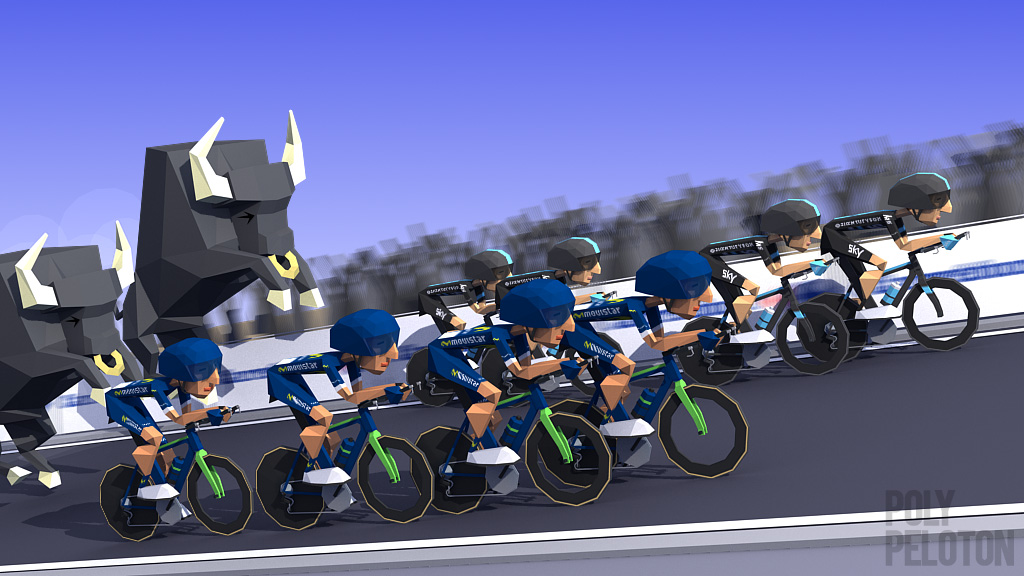 9f447e351 La Vuelta 2016 - Stage 1   Team Sky claimed the opening TT stage to edge  out Movistar by less than half a second