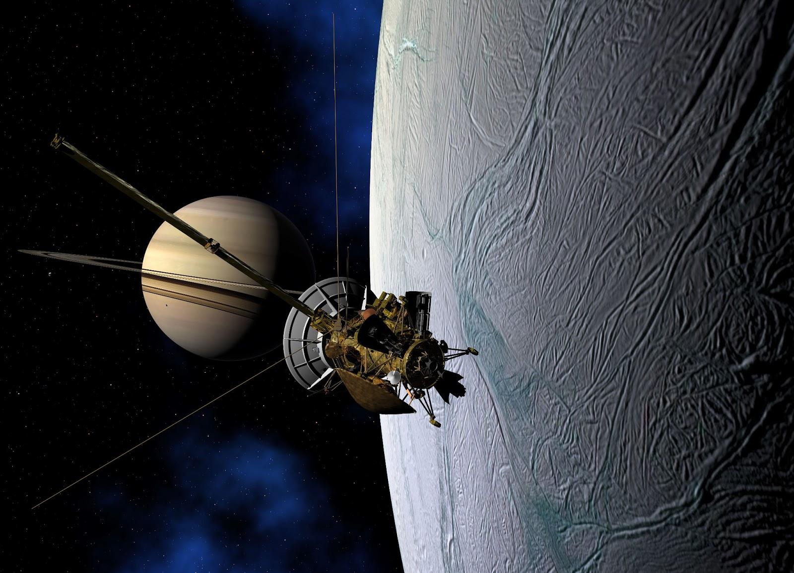 Orbiter.ch Space News: Facing Enceladus