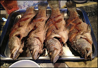 Phuket Sunset Cruise and dinner - fried red snappers