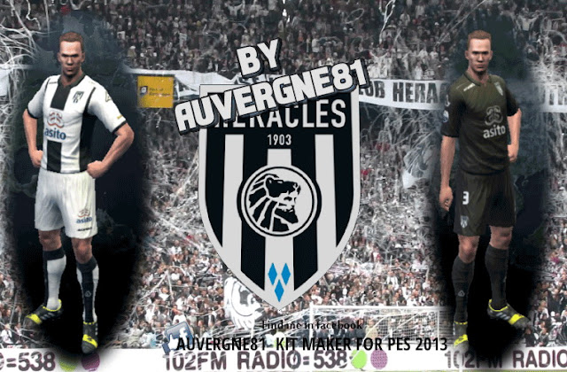 PES 2013 HERACLES ALMELO GDB 2016/2017 by Auvergne81