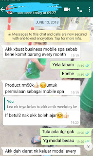 ibu tunggal, kursus spa, bisnes spa, youth shaklee, spa shaklee, trainer kuantan, trainer spa, trainer pahang, twb, the walking beauty, spa, facial, servis