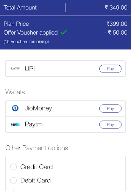 how to use jio cashback voucher