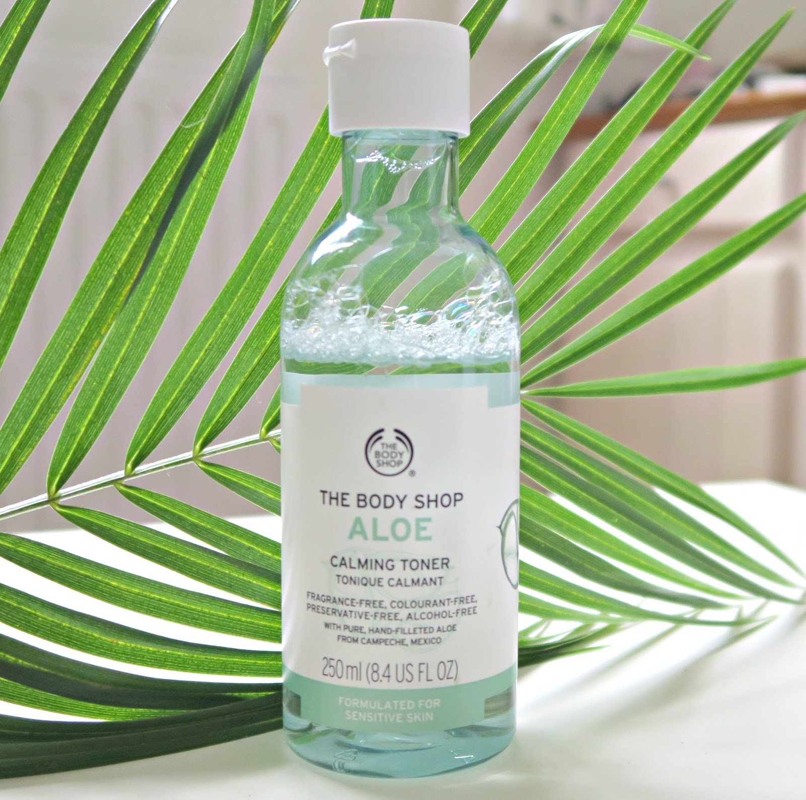 lotion calmante et apaisante the body shop aux extraits d'aloe vera