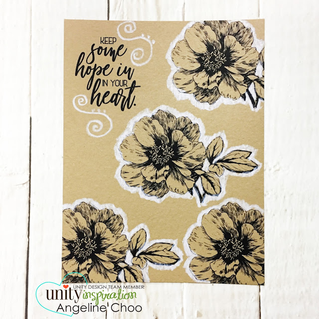 ScrappyScrappy:  [NEW VIDEO] Unity Stamp Brown Thursday {extended} #scrappyscrappy #unitystampco #collencoloredpencil #kraftcard #card #cardmaking #papercraft #brownthursday #stamp #stamping #quicktipvideo #youtube #gracielliedesign