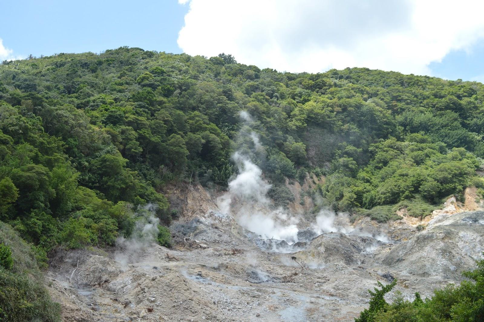 Sulphur Springs St Lucia