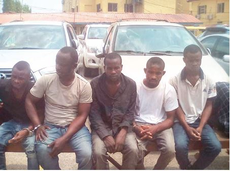 Faces Of Kidnappers Who Ran To Lagos To Share Money After Abducting Woman