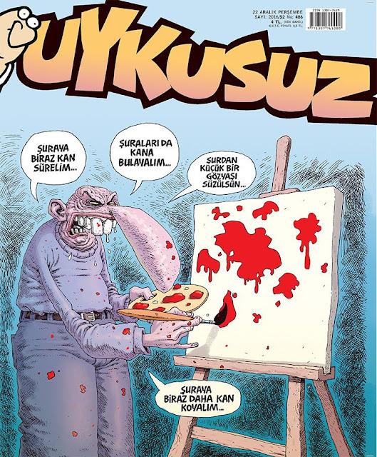 Uykusuz Dergisi | 22 Aralık 2016 Kapak Karikatürü
