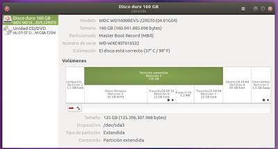 Disco duro 160 GB