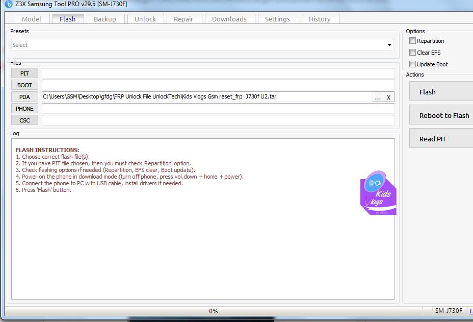 J730f Pit File Download
