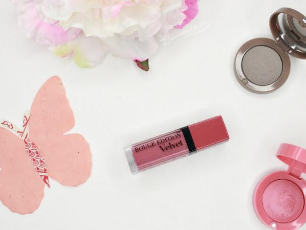 #FrenchFriday : Bourjois Rouge Edition Velvet Liquid Matte Lipstick