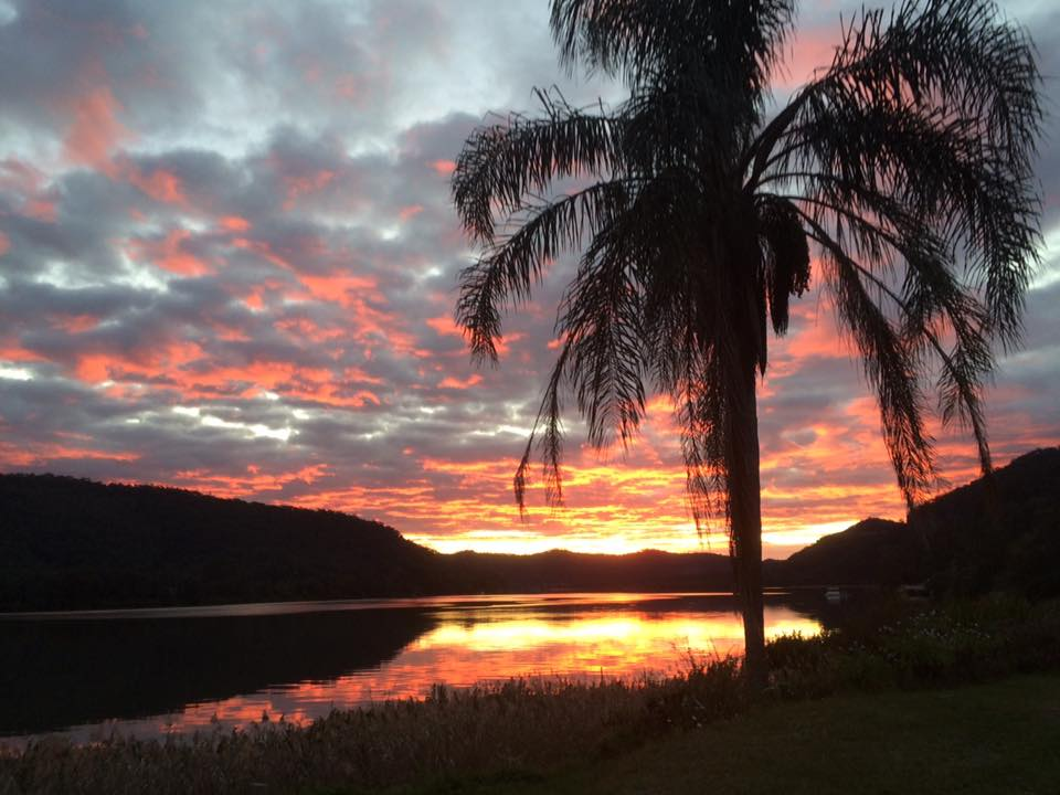 Hawkesbury River at Sunset