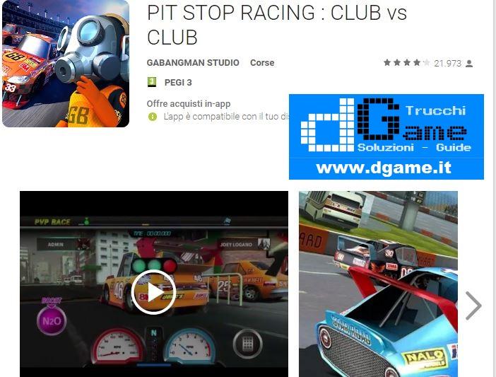 Trucchi PIT STOP RACING : CLUB vs CLUB Mod Apk Android v1.4.9