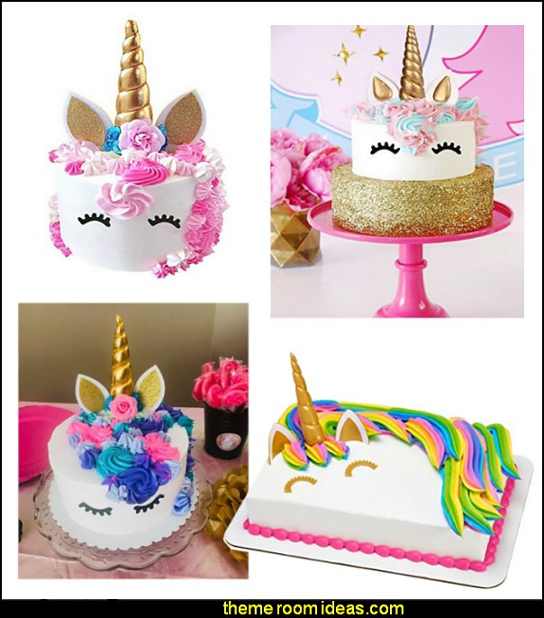 unicorn cake toppers  unicorn party supplies - rainbow unicorn party decorations - unicorn birthday party - Unicorn Themed Party -  Unicorn Balloons  -  unicorrn cupcakes - rainbow decorations - Unicorn  Garlands - sequin tablecloth - tutu table skirt -  Unicorn Costume