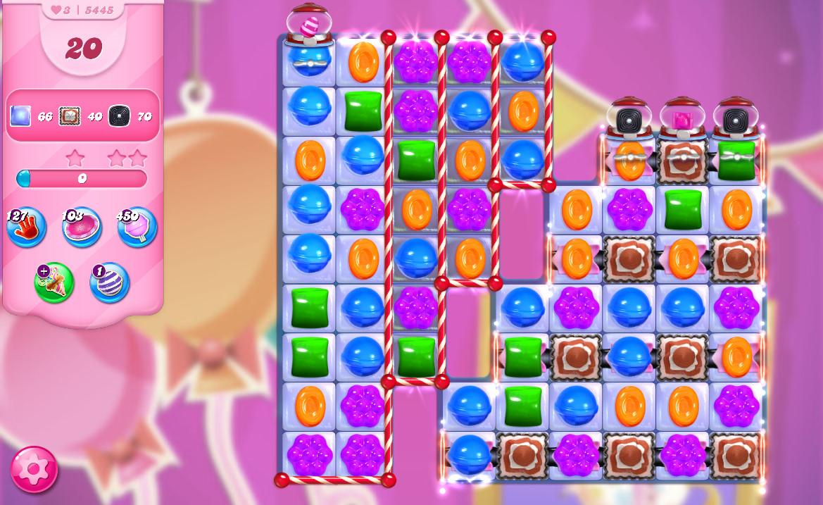 Candy Crush Saga level 5445