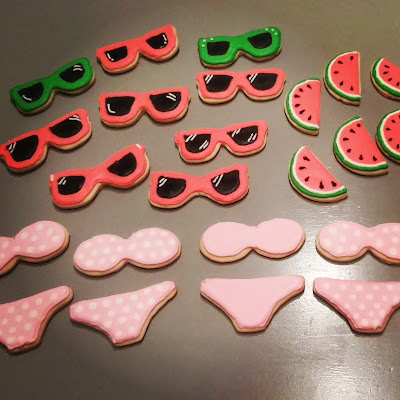 Summer Bikini Cookies