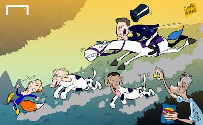 Tottenham chasing Vardy