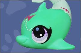 LPS Dolphin Figures
