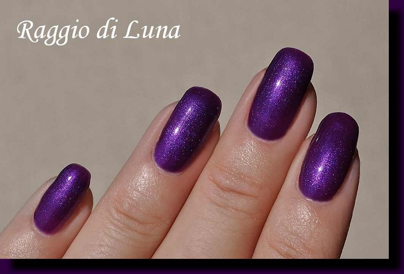Raggio di Luna Nails: BP UV gel polish n° 6057 Dark Purple