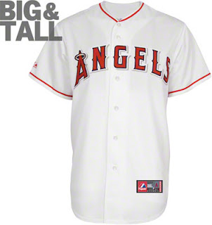 Big and Tall Los Angeles Angels of Anaheim Jersey