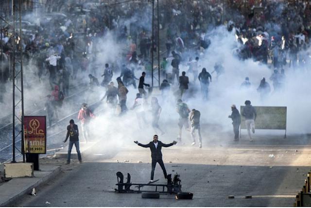 Demonstran di Kairo Serukan Tumbangnya Rezim Mesir Al-Sisi