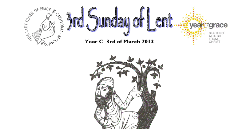 The Peaceful Dove: Parish Bulletin for the Third Sunday of
