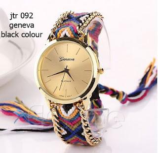 Jam Tangan Geneva Rajut Original