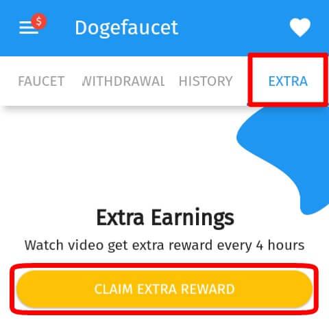 Langkah yang kedua yaitu dengan cara menonton iklan dalam bentuk video yang telah diberikan oleh pihak Doge Faucet.