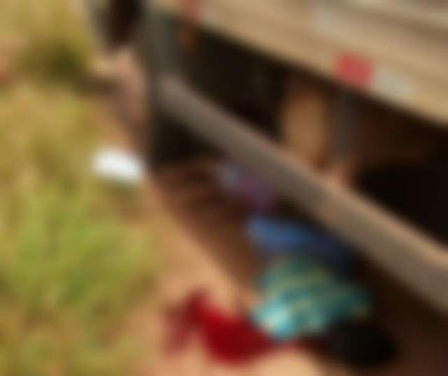 Urgente! Motorista de caminhão atropela e mata duas crianças agora em Cacoal