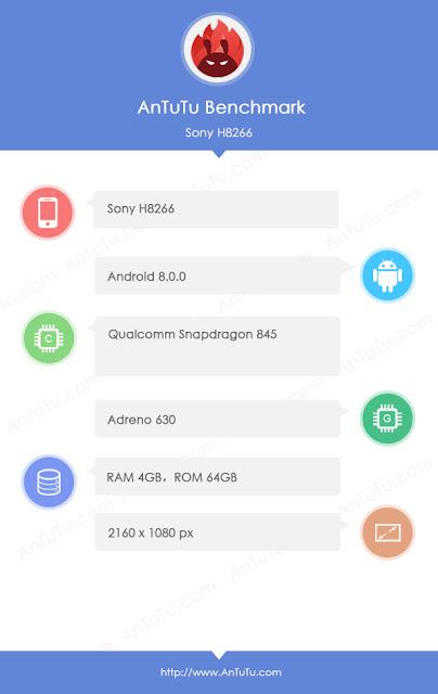 , Sony Xperia XZ2 dengan Layar 18:9 dan Snapdragon 845 Muncul di AnTuTu, KingdomTaurusNews.com - Berita Teknologi & Gadget Terupdate