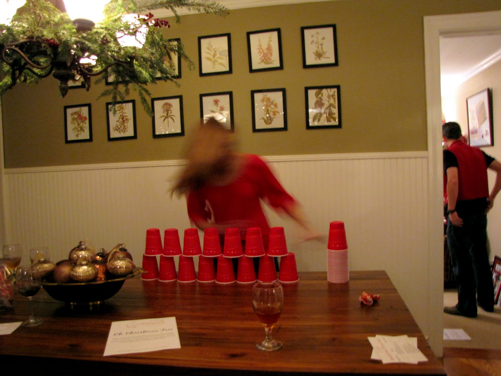Minute To Win It Christmas Games.Minute To Win It Christmas Party Part 1