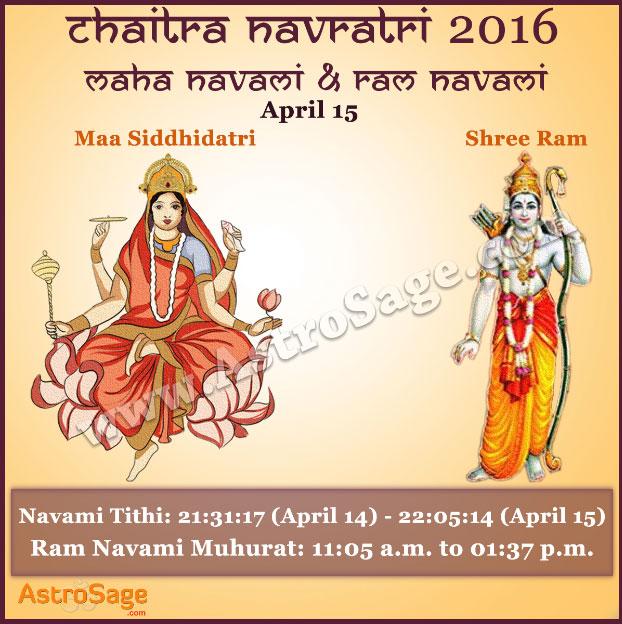 Presenting Chaitra Navratri's Maha Navami and Ram Navami here