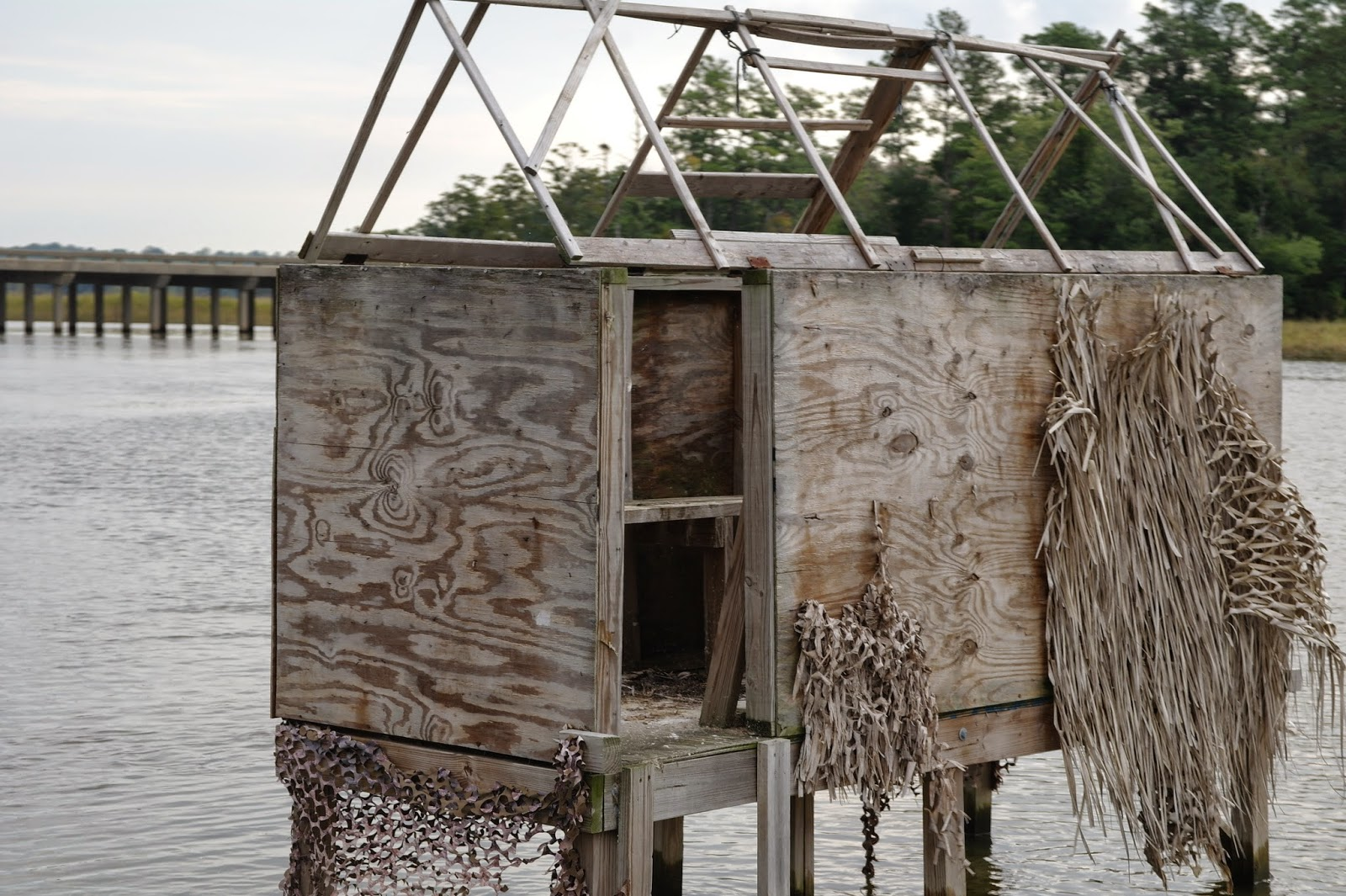 Today On The James Adopt A Duck Blind