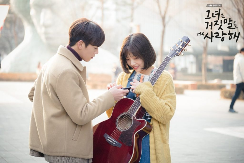 Not Angka Ost Kdrama The Liar And His Lover 2017