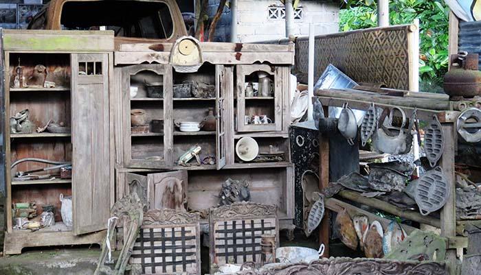 Perabotan yang Hancur Diterjang Awan Panas di Museum Mbah Maridjan