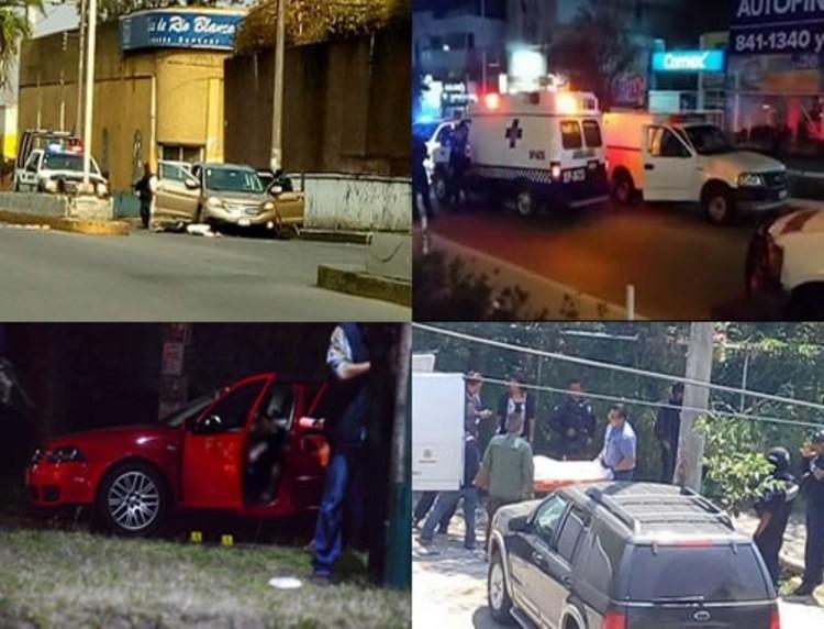 Ejecutan a seis personas  en Xalapa y Rio Blanco, Veracruz