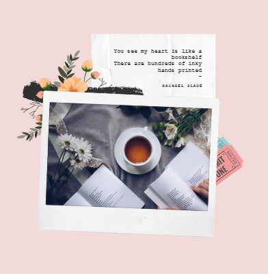 poetry, flowers and tea