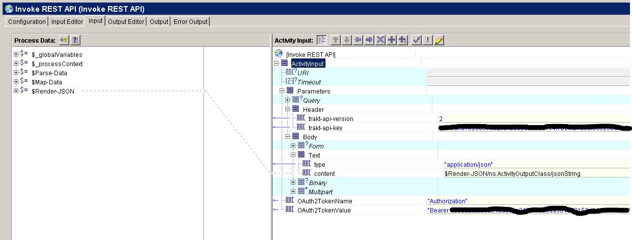 Invoking a OAuth2 REST API with the TIBCO BusinessWorks 5 x plug-in