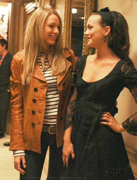 Primeiro episódio de Gossip Girl, Blair e Serena
