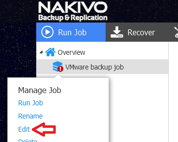 Nakivo: Policy-Based VM Protection